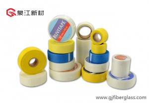 Self-enamathelayo Fibreglass mesh Tape