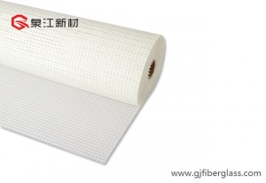 Self-adhesive Glêstried Mesh / Glêstried mesh foar GRC en EPS model