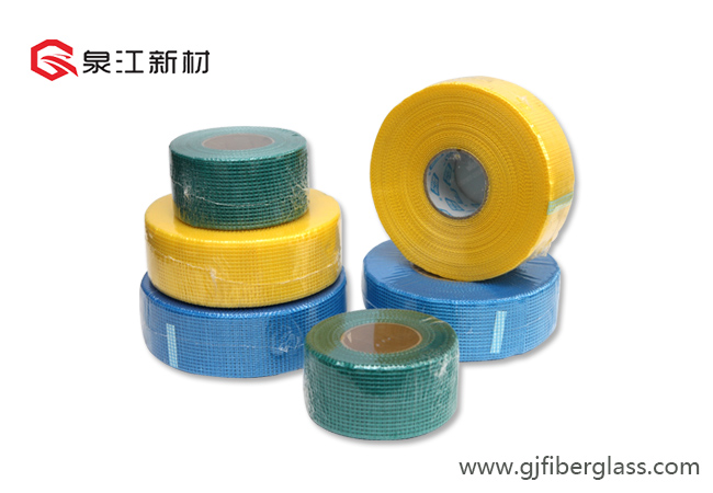 Fibre de verre cloison sèche Joint Mesh Photo descriptive Tape